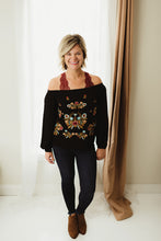 Load image into Gallery viewer, Bohemian Floral Blouse