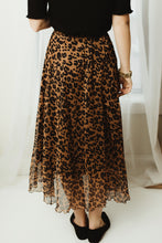 Leopard Printed Skirt