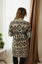 Load image into Gallery viewer, Aztec Multi Cardigan