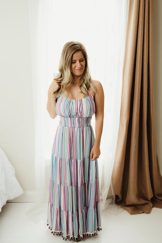 Tiered Bottom Maxi