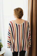 Load image into Gallery viewer, Striped Oversized Sweater