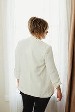 Notched Front Blazer