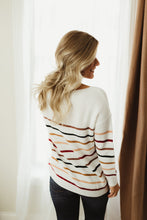 Load image into Gallery viewer, Striped Knit Sweater