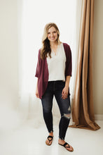 Load image into Gallery viewer, Woven Chiffon Cardi