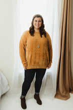 Plus Cable Chenille Sweater