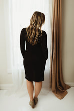 Load image into Gallery viewer, Wrap Sweater Dress