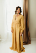 Load image into Gallery viewer, Chiffon Surplice Maxi