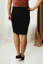 Load image into Gallery viewer, Ponte Pencil Skirt