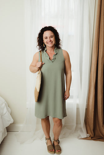 Casual Woven Dress