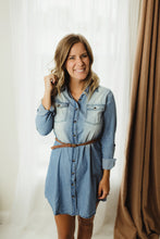Load image into Gallery viewer, Denim Dress