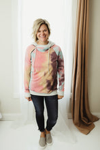 Load image into Gallery viewer, Tie Dye Double Hoodie