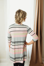 Load image into Gallery viewer, Stripe Long Cardigan