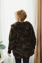 Load image into Gallery viewer, Camo Sherpa Jacket