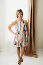 Load image into Gallery viewer, Sleeveless Multi Striped Dress