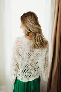 Round Crochet Sweater