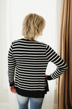 Load image into Gallery viewer, Stripe Snap Button Sweater