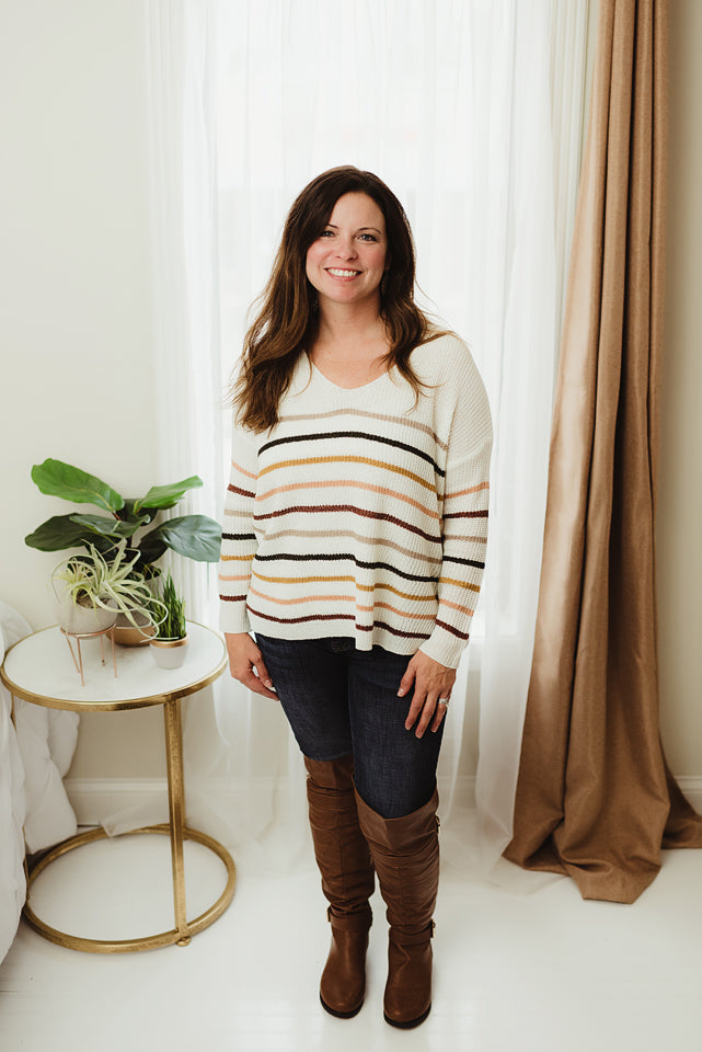 Light Stripe Pullover