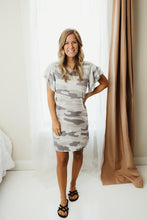Load image into Gallery viewer, Camouflage T-Shirt Dress