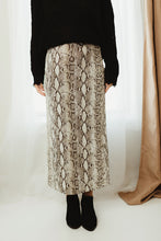 Load image into Gallery viewer, Snake Skin Skirt