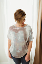 Load image into Gallery viewer, Tie Dye Round Neckline