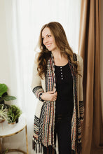 Load image into Gallery viewer, Tribal Fringe Cardi