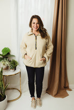 Load image into Gallery viewer, Half Zip Fleece Pullover