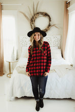 Load image into Gallery viewer, Fleece Lined Flannel