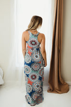 Load image into Gallery viewer, Medallion Maxi Dress
