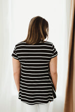 Load image into Gallery viewer, Short Sleeve Relaxed Hem