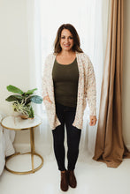 Load image into Gallery viewer, Speckled Knit Cardi