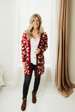 Load image into Gallery viewer, Leopard Pattern Cardi