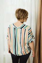 Striped Boxy Top