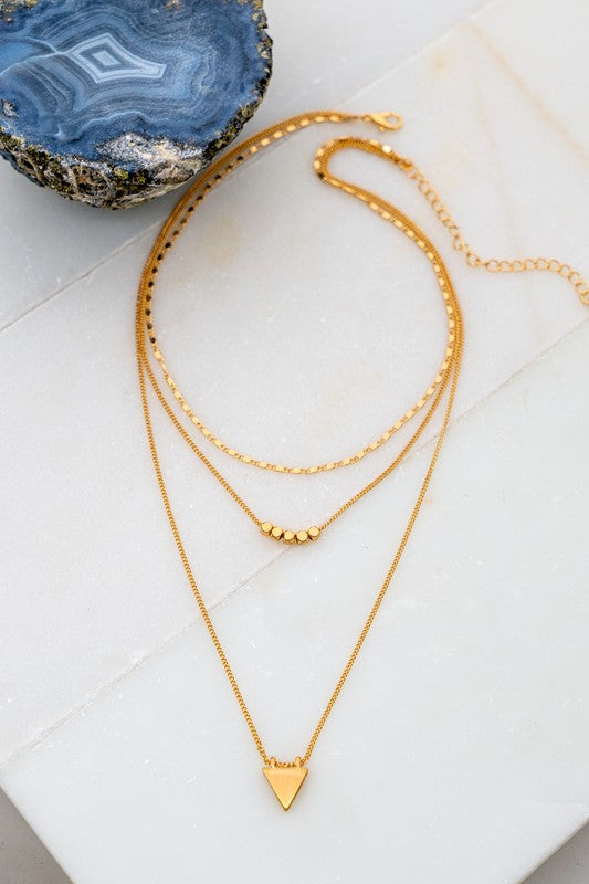 3 Row Necklace