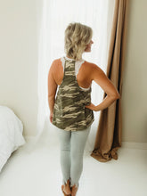 Load image into Gallery viewer, Racerback Camo