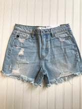 Load image into Gallery viewer, Distressed Midi Shorts