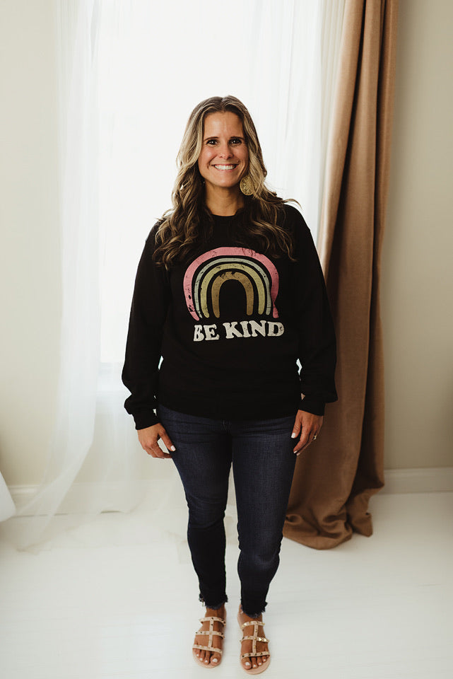 Be Kind Graphic Sweatshirt
