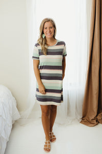 Multi Knit Dress