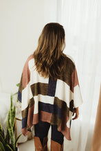 Load image into Gallery viewer, Multi Cowl Poncho