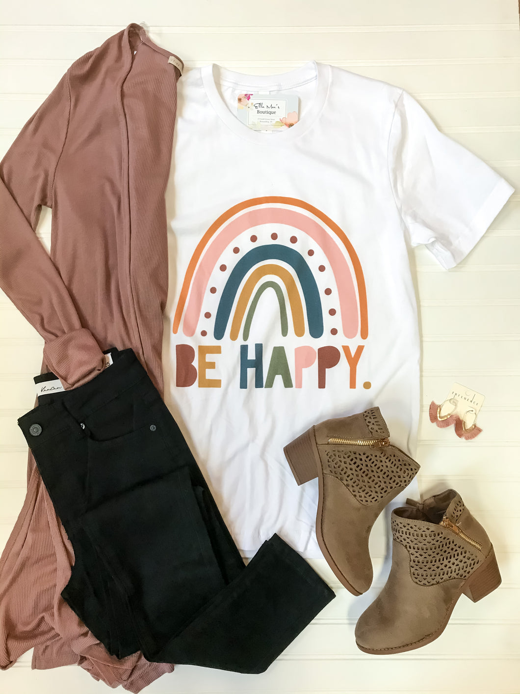 Be Happy Graphic