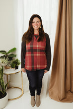Load image into Gallery viewer, Plaid Baseball Top