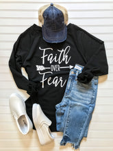 Load image into Gallery viewer, Faith Over Fear Top