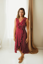 Dot Printed Maxi Dress