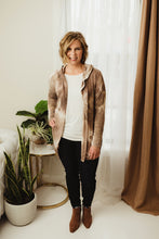 Load image into Gallery viewer, Tie Dye Hooded Cardi