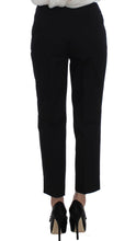 Black Cotton Stretch Suit