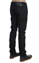 Black Cotton Slim Skinny Fit Jeans