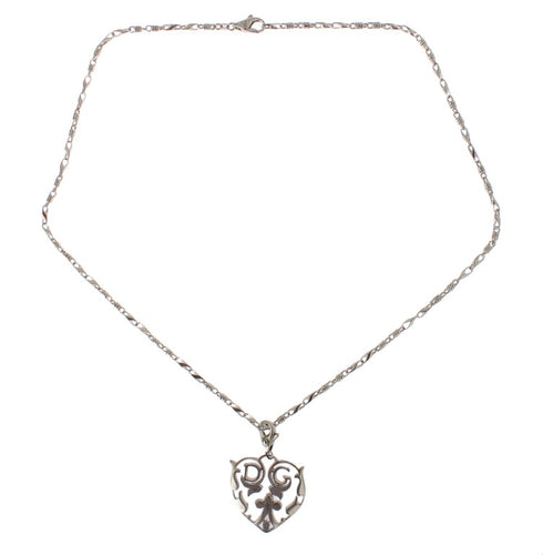 925 Silver Heart Charm Necklace
