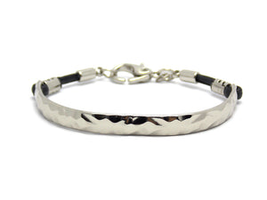 Bracelete You Geometric - Silver