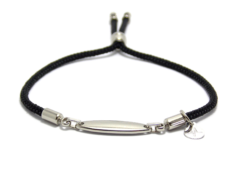 Pulseira You Chrome - Black