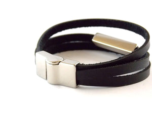 Pulseira Strip Black