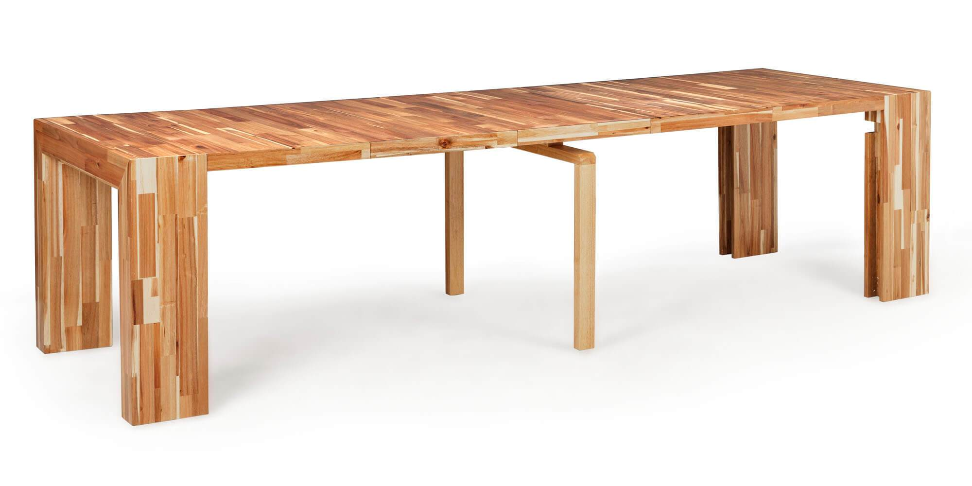 The Dining Set 2.0 + Natural Acacia